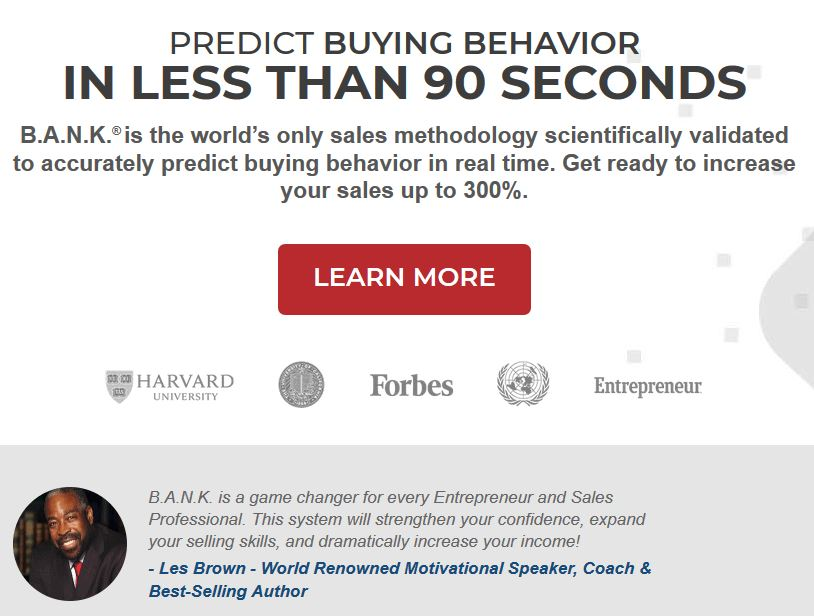 Predict Buying Behavior IN LESS THAN 90 SECONDS.