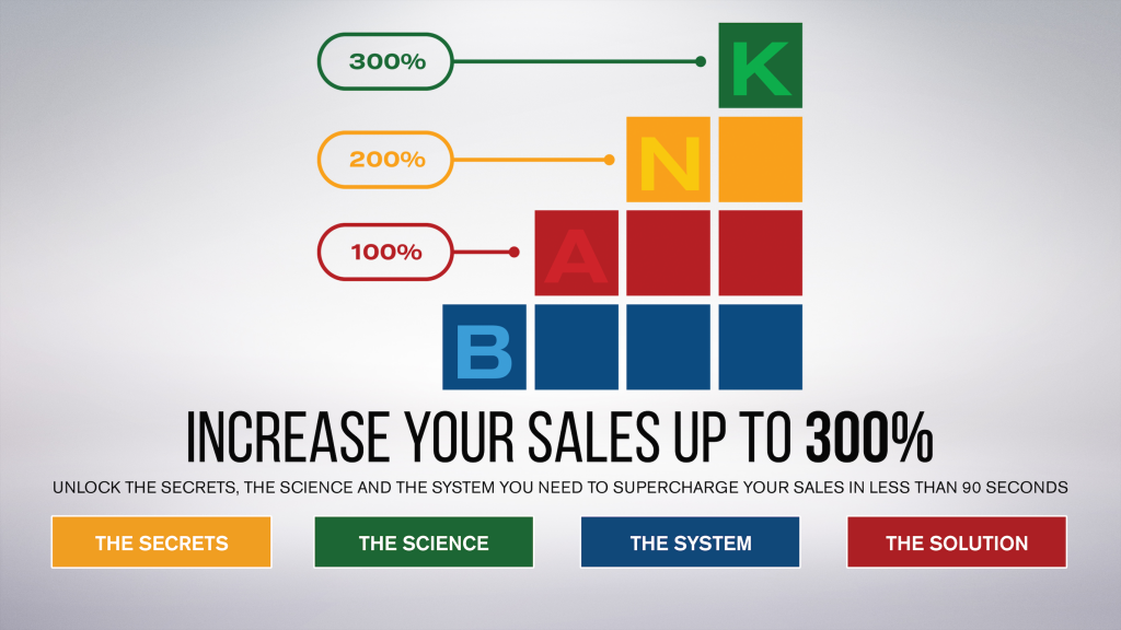 Increase your sales!