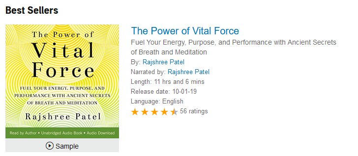 The Power of Vital Force — Rajshree Patel
