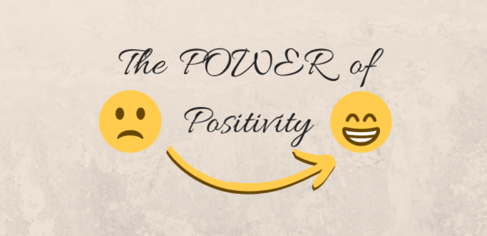 Positivity also makes you HAPPIER! :)