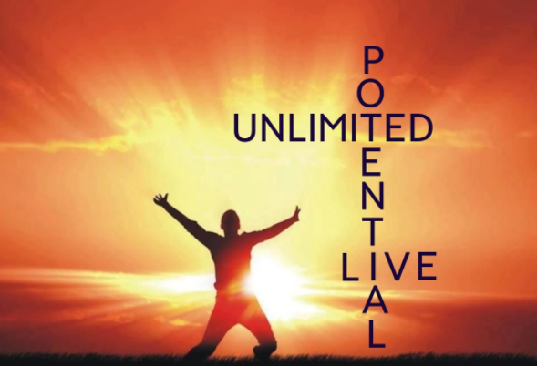 We're all born with unlimited potential.