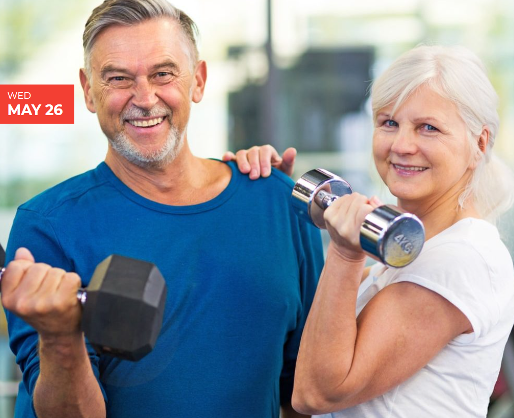 National Senior Health and Fitness Day!