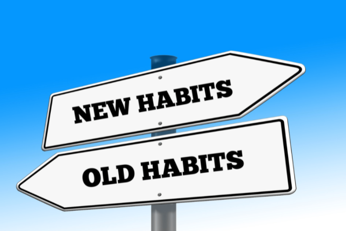 We are the results of our habits.